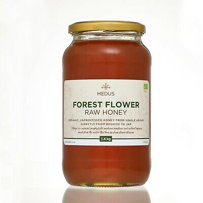 RUNNY Forest Wild Flower 1.5kg ORGANIC Honey PURE RAW NATURAL unpasteurized