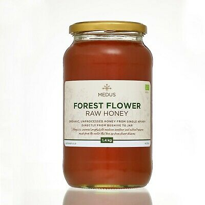 Runny Forest Wild Flower 1.4kg ORGANIC Honey PURE RAW NATURAL unpasteurized