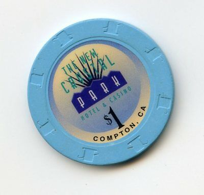 1.00 Chip from the Central Park Casino in Compton California