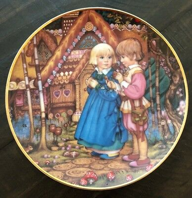 Franklin Mint | Limited Edition | Collector Plate | Hansel and Gretel