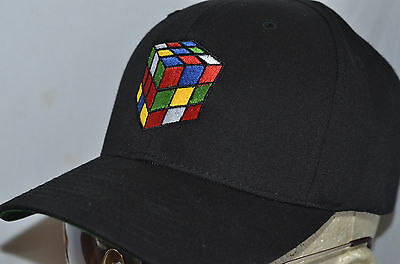 Rubiks Cube Hat 80s Retro Vintage Erno Algorithm Game big bang theory Shirt  Risk 640ad1911b99