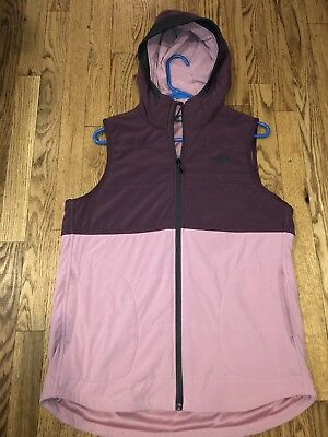 244b88f4bd44 NWOT THE NORTH FACE Women s Mountain Sweatshirt Insulated Hooded Vest Sz M