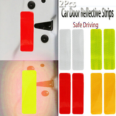 Car Door Reflective Strips  Luminous Stickers  Warning Mark  Safety Driving
