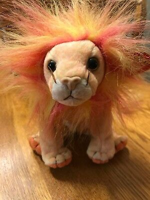 Ty Beanie Baby Bushy - MWMT, Cat Lion