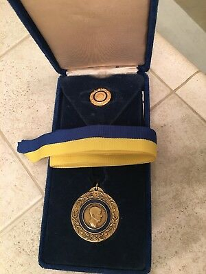Paul Harris Fellow Rotary Medal With Tie Tack  The Rotary Foundation of Rotary I