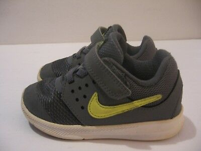 b1cb6144f1e9d Nike Downshifter 7 869974-002 Grey Toddler Shoes US Size 8C EUR Size 25