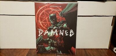 DC Comics BATMAN DAMNED # 1 black label Jim Lee RARE variant comic book