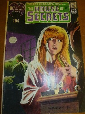 DC and Marvel Comic Grab Bag,  Key issues House of secrets 92