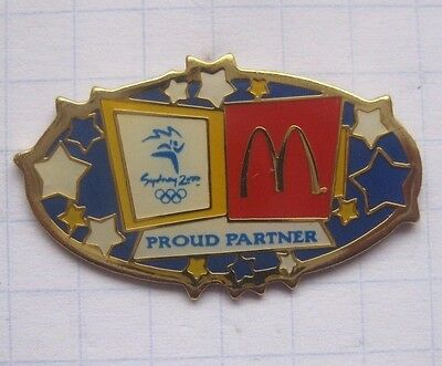 M / SYDNEY 2000 / OLYMPIA / PROUD PARTNER ........Mc DONALD`s-Pin (148j)