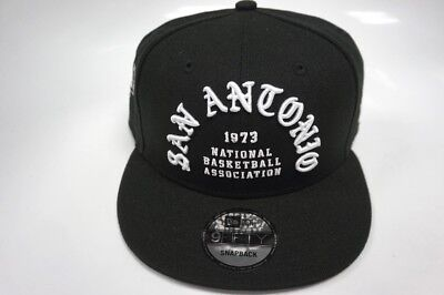 59d9aed5692 NEW ERA SAN Antonio Spurs Black Official Team Color 59FIFTY Fitted ...