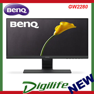 "BenQ GW2280 21.5"" Full HD Eye-Care VA LED Monitor VGA, 2x HDMI, VESA, Speakers"