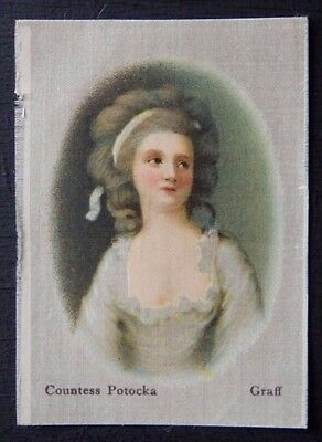 COUNTESS POTOCKA by GRAFF Superior Quality Silk issued in 1912