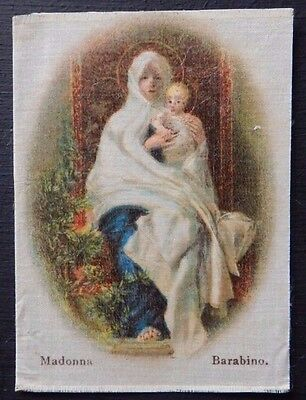MADONNA by BARABINO 2nd version Superior Quality Silk issued in 1912