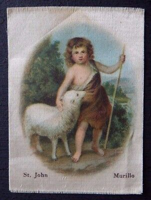 ST JOHN by MURILLO Superior Quality Silk issued in 1912