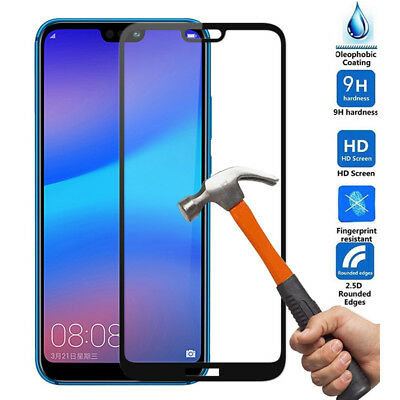 For Huawei P20 Lite P20 Plus 5D/3D Full Cover Tempered Glass Screen Protector kk