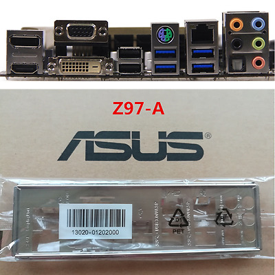 ASUS I//O IO SHIELD BLENDE BRACKET M3N-HT DELUXE//MEMPIPE