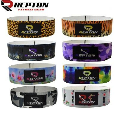 sublimated Super Heavy Strength Level 2 Hip circle Booty Band  by Repton Fitness