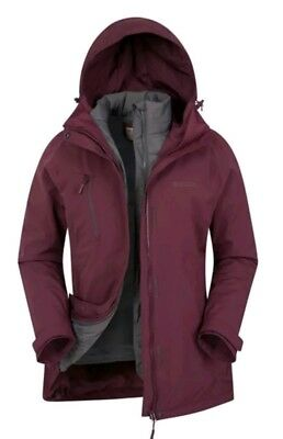 456c18dc6 MOUNTAIN WAREHOUSE THAW Womens Down 3 In 1 Jacket - £99.99