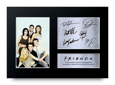 Friends Gift Signed A4 Printed Autograph Tv Show Gifts Print Picture Photo