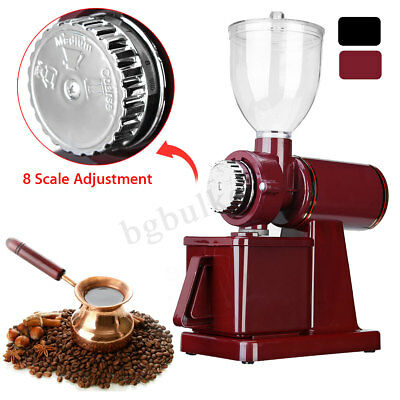 180W Electric Coffee Bean Grinder Adjustable Spice Nuts Grinding Mill Tool Home