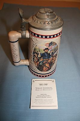 Ulysses S Grant - Relentless Warrior - Heroes of the Civil War Collectible Stein