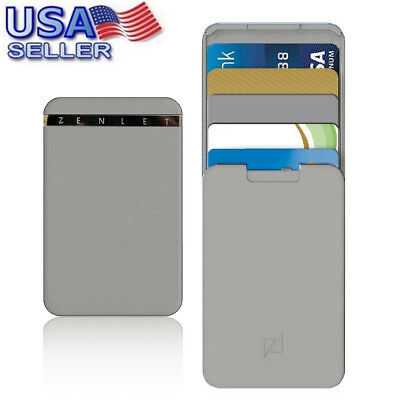 Zenlet Credit Card Package Anti-side Wallet Action Wallet Push-pull Card Holder
