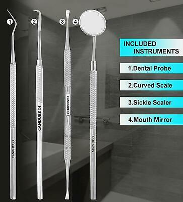 Dental Floss Hygiene Calculus Plaque Remover Mirror Teeth whitening Oral Care