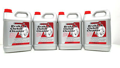 Brake And Clutch Cleaner Eliminates Brake Squeal 5L X 4 (20 Litres) 20L 20Lt