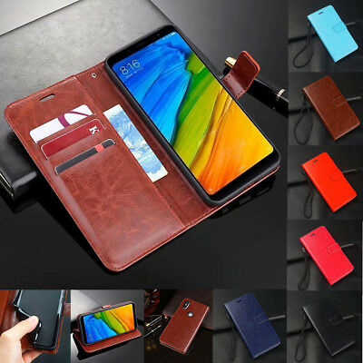 For Xiaomi Redmi Note 6 Pro Shockproof Magnetic Flip Wallet Leather Case Cover