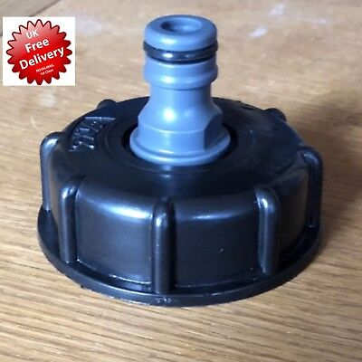IBC HOSE PIPE STANDARD FIT STILLAGE TANK SCREW Free P&p Cap TAP WATER CONTAINER