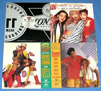Salt 'n Pepa -Tramp+ Push It+ Shake Your Thang+ Shoop+ None Of Your Business