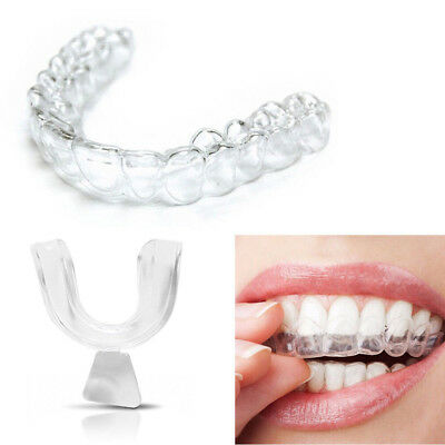 4Pcs Mouth Guard For Tooth Clenching Grinding Dental Bites Sleep Aid Silicones
