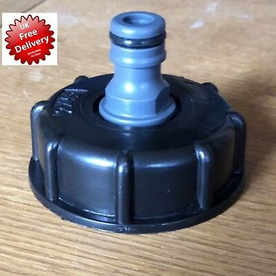 IBC HOSE PIPE STANDARD FIT STILLAGE TANK SCREW Car Wash Cap TAP WATER CONTAINER