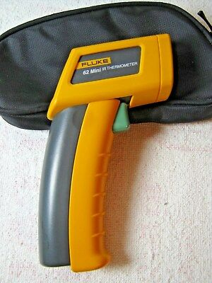 Fluke 62 Mini IR Thermometer With Case