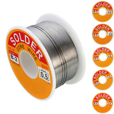 Solder Wire 63/37 Tin Lead Alloy With Built In Flux , Proper Solder 100 G Reel