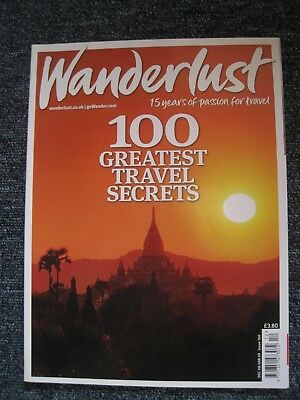 Wanderlust Travel Magazines  (Jan 2001 - April 2017) 128 issues