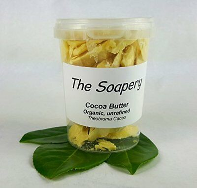 Cocoa Butter- Certified Organic Raw Unrefined Pure By Thesoapery