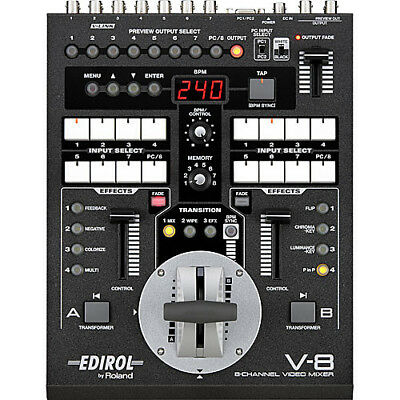 Roland V-8 Eight Channel Live Video Effects Switcher