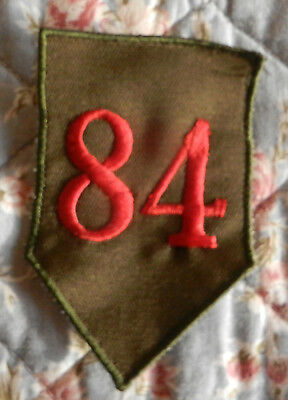 Vintage Aufnäher 84 Patch Shabby DIY Military Ghotik Flicken Applikation Rockabi