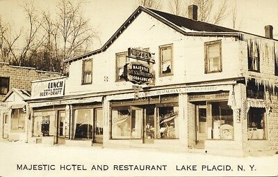 Majestic Hotel and Restaurant, Lake Placid, NY. used in 1980
