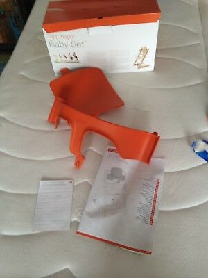 Stokke Tripp Trapp Baby Set / Sitzverkleinerer in Orange