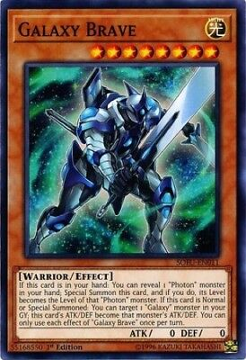 3 x Galaxy Brave (SOFU-EN011) - Common - 1st Edition