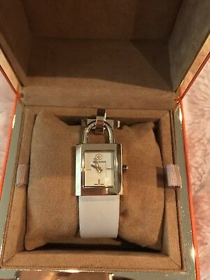 fd7a088fe98 Tory Burch Surrey Ivory Dial Ivory Leather Strap Ladies Watch Trb7005