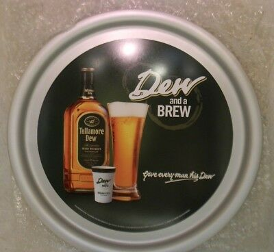 """Tullamore Dew and a Brew Drink Tray Mint in Wrapper 15"""""""