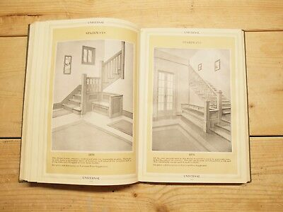 RARE vintage 1920 Arts & Crafts Millwork Architectural Catalog Fully Illustrated
