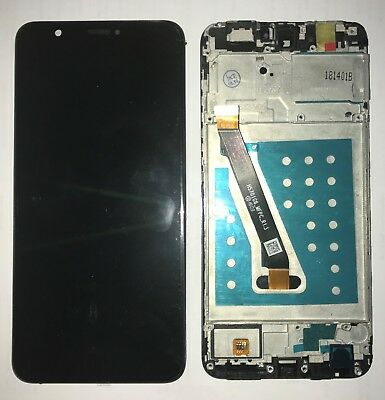 Vetro Display Lcd + Touch Screen + Frame Per Huawei P Smart Nero Fig-Lx1 + Gls