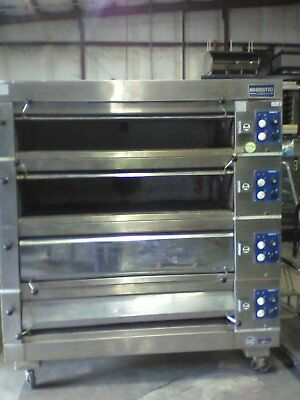 Adamatic 4 deck oven Artisan - Electric 208 V 3 phase