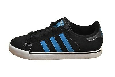 online store fdce1 e5979 Adidas CAMPUS VULC Black 1 Turquoise Run White Discounted (178) Men s Shoes
