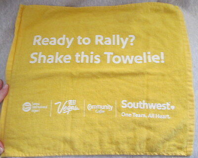 Southwest Airlines Towel Tampa Airport Ready to Rally Shake this Towlie 14x17