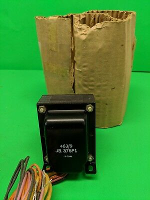 JB 375 PI 463/9 B-7033 Transformer  Vintage Power Transformer - Never Used
